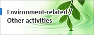 Environment-related / Other activities